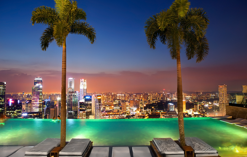 Marina Bay Sands' Infinity Pool