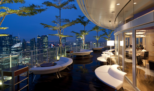 Marina Bay Sands' Sky on 57 Bar & Restaurant