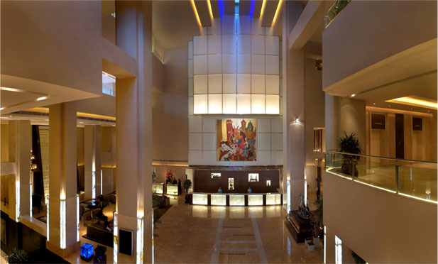 Lalit Hotel Lobby