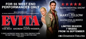 Exclusive Performance of Evita
