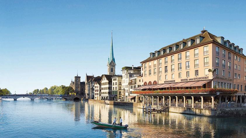 Storchen Hotel, Zurich