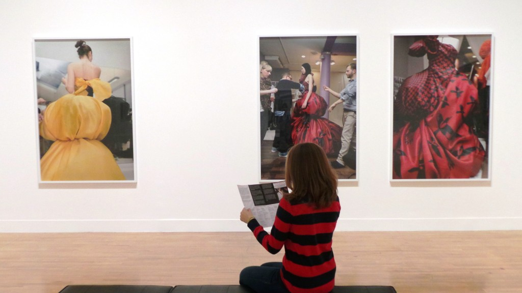 Reading about the Exhibition