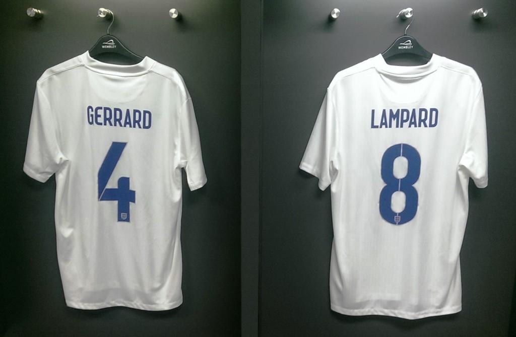 Shirts at Wembley Stadium