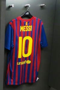 Messi Shirt at Wembley Stadium
