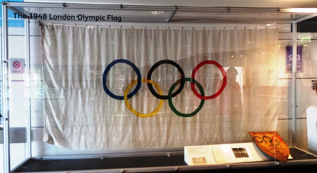 Olympic Flag at Wembley Stadium