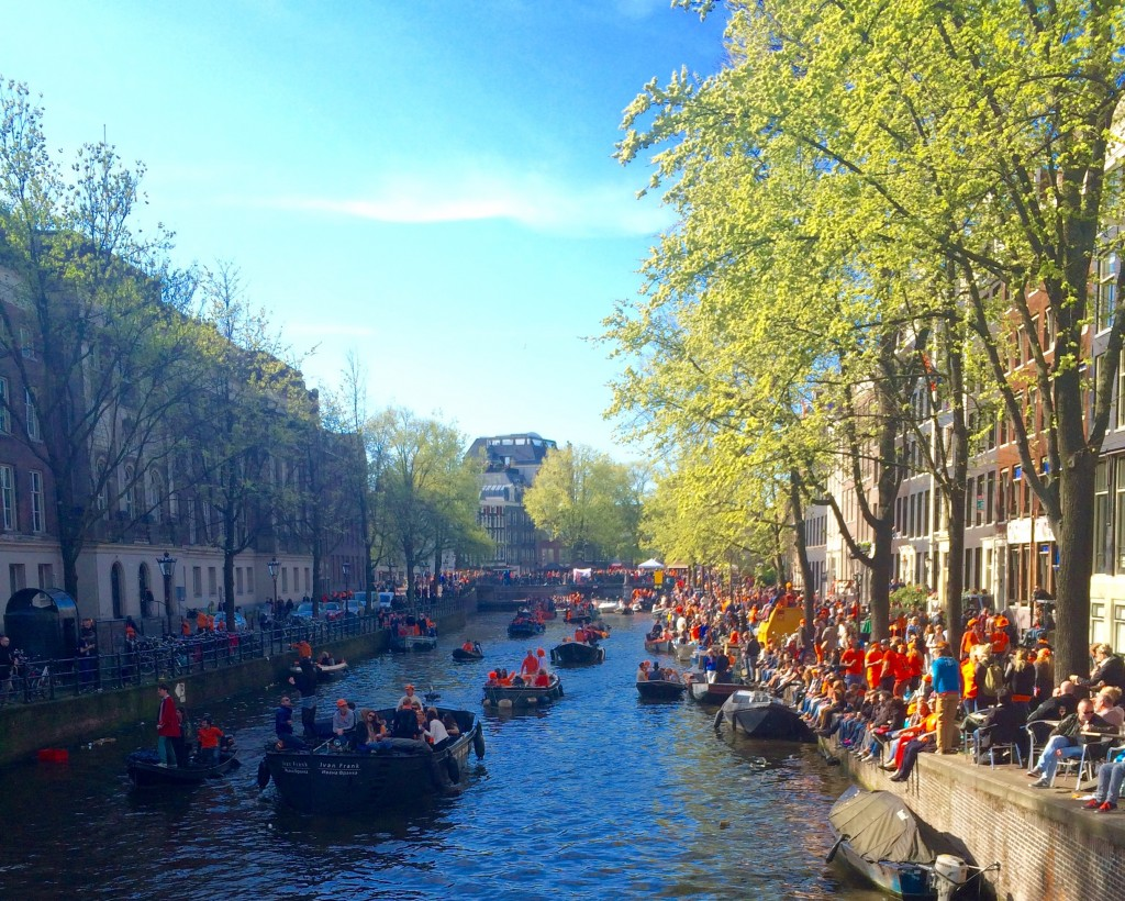 Boat parties in Amsterdam