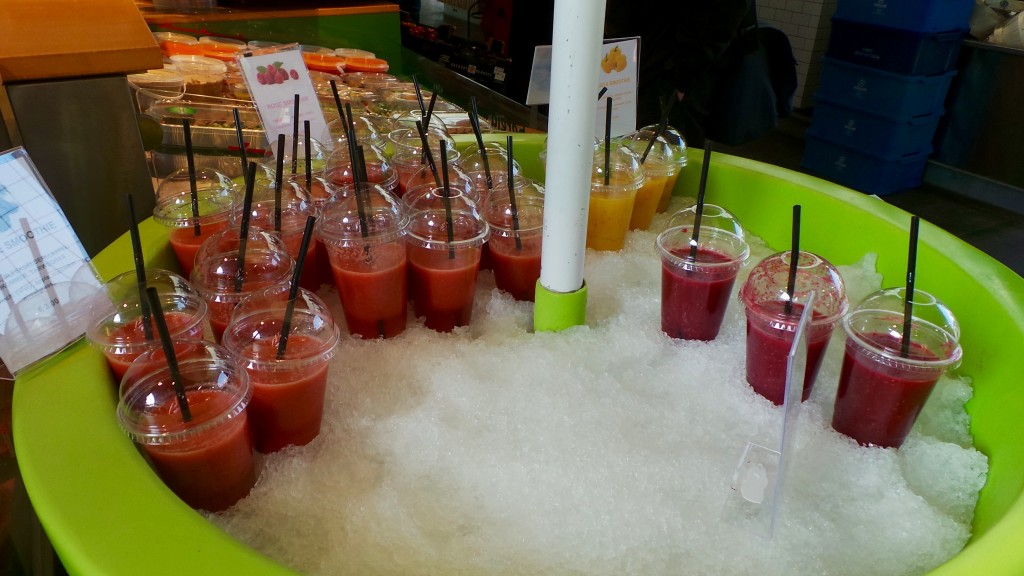 Fresh fruit & vegetable juices