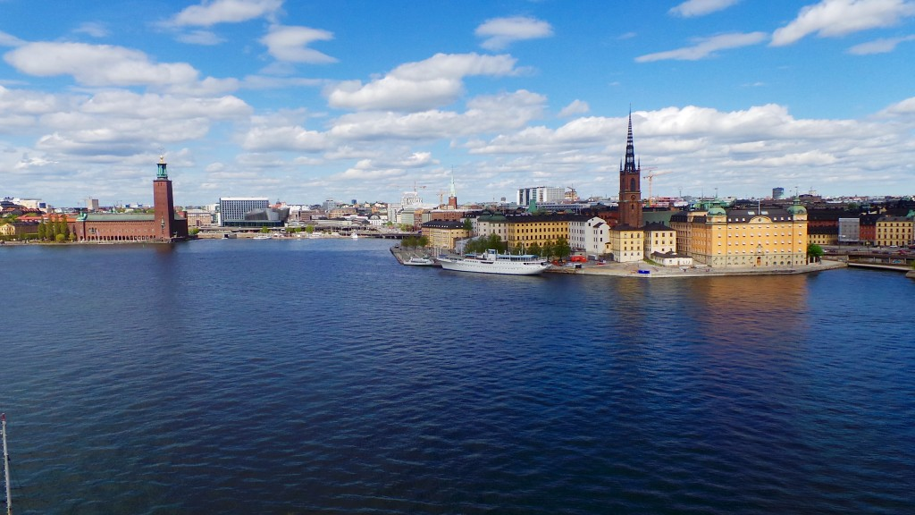 Panoramic View over Stockholm