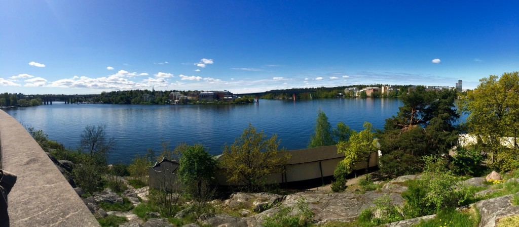 So much blue in this Panorama!