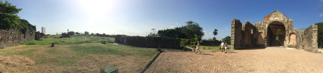 Panorama of what could be a wedding venue