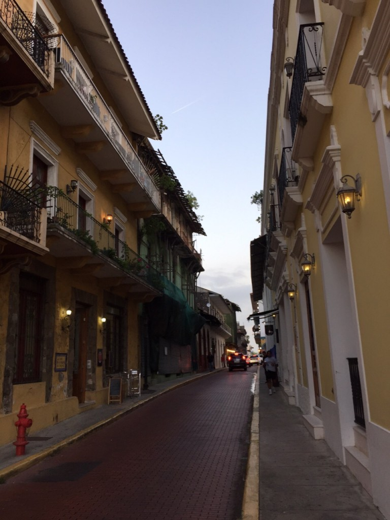 Restored Casco Viejo