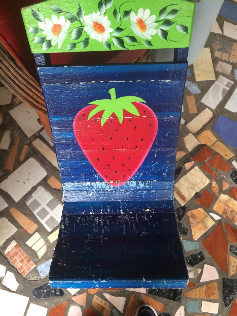 Strawberry Chair