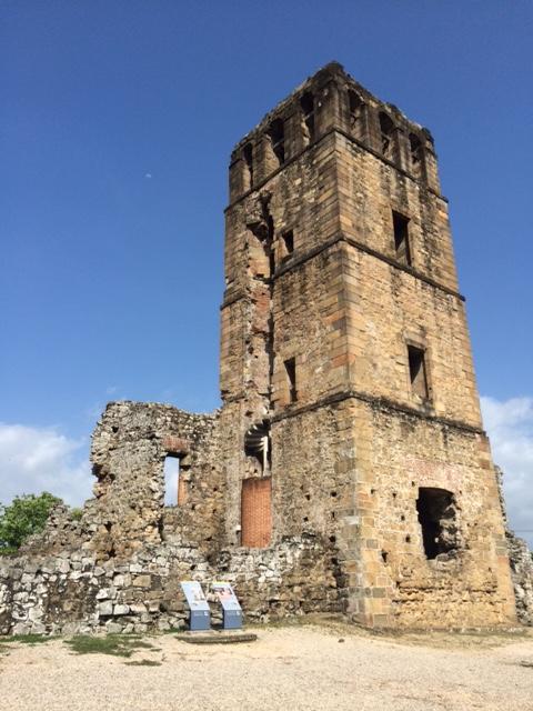 The Cathedral at Panama Viejo