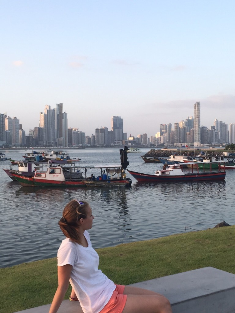 View of Panama City from Cinta Costera
