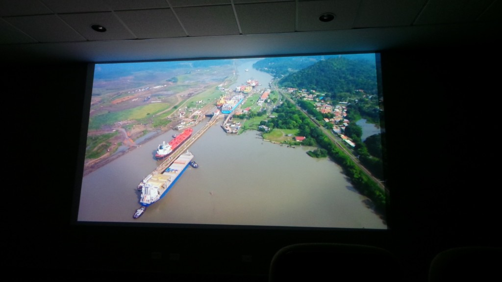 Video about the Panama Canal and its expansion