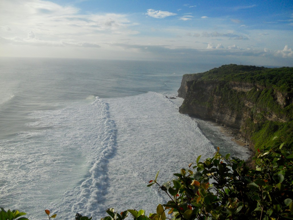 Cliff near Uluwatu Temple