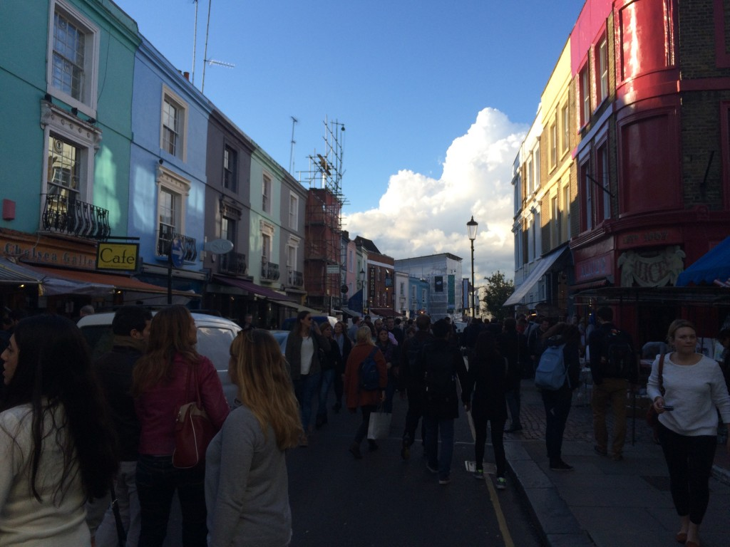 Portobello Road Market on a Saturday