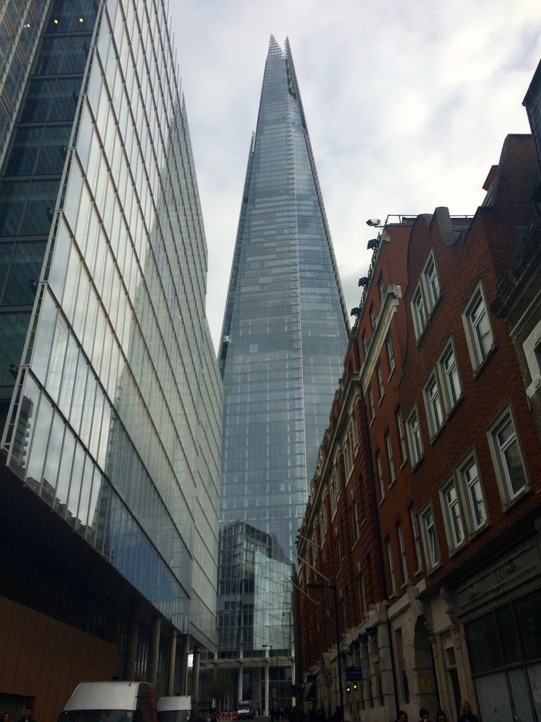 The Shard from the Exterior
