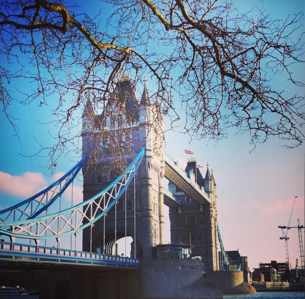 The Tower Bridge on a beautiful day