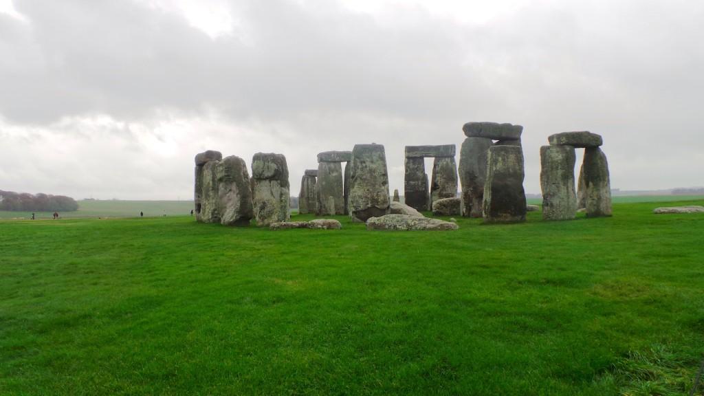 The prehistoric Stonehenge, Amesbury