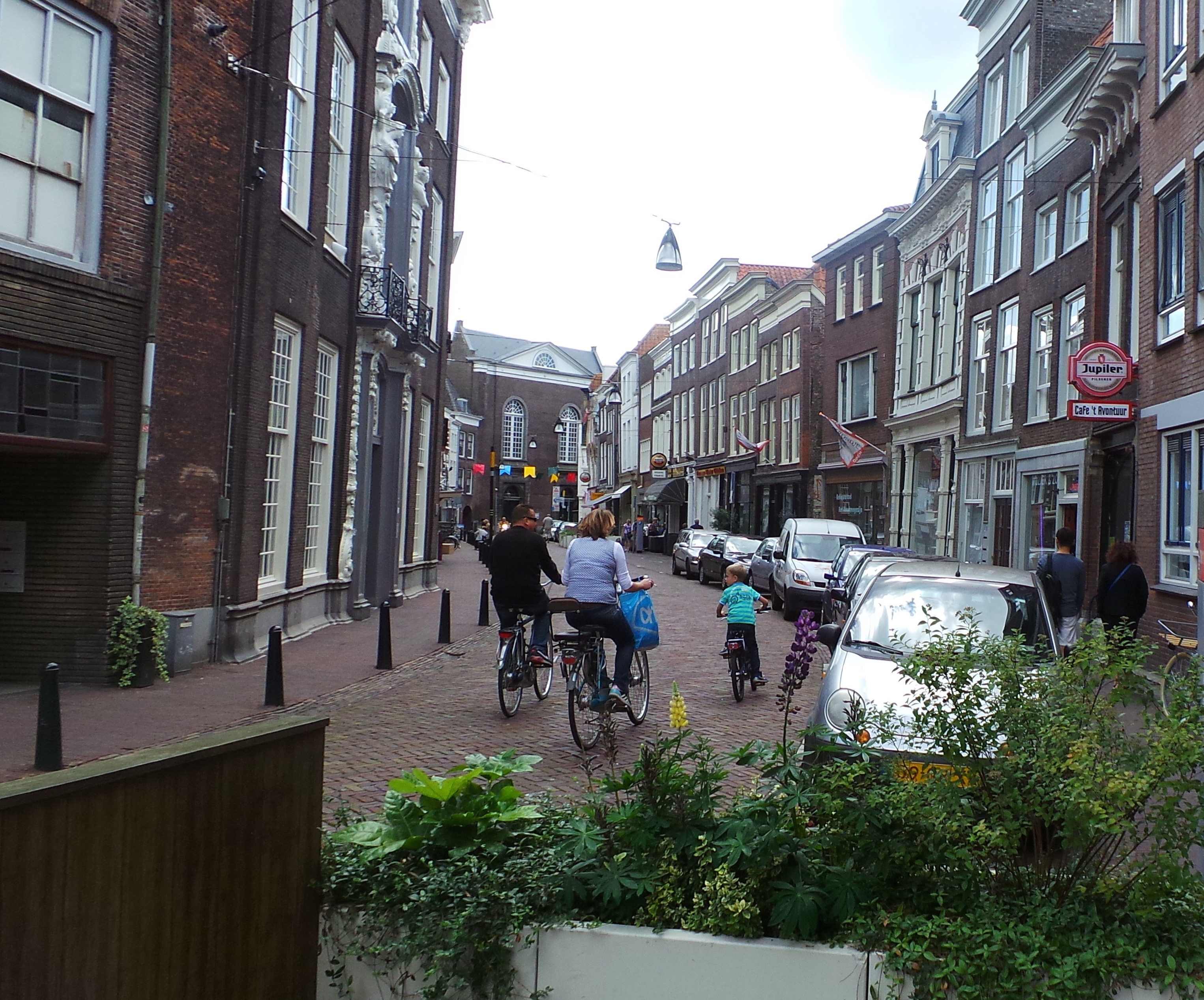 The city center of Dordrecht in South Holland