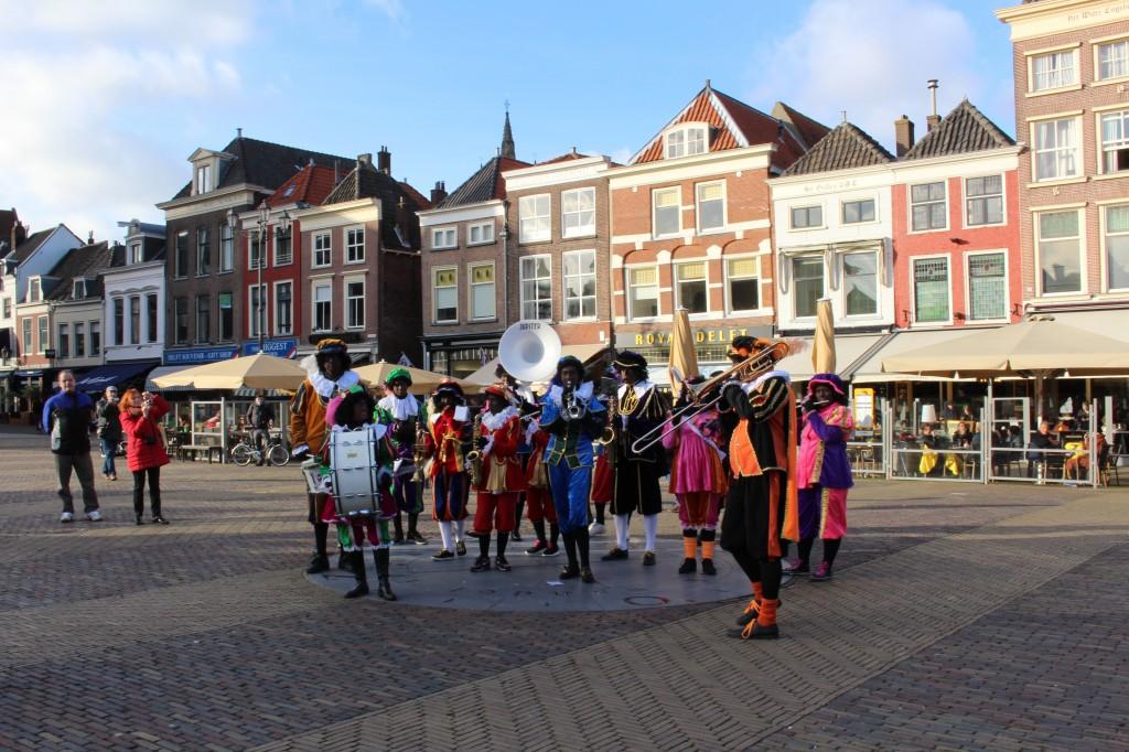 Zwarte Piet at Delft