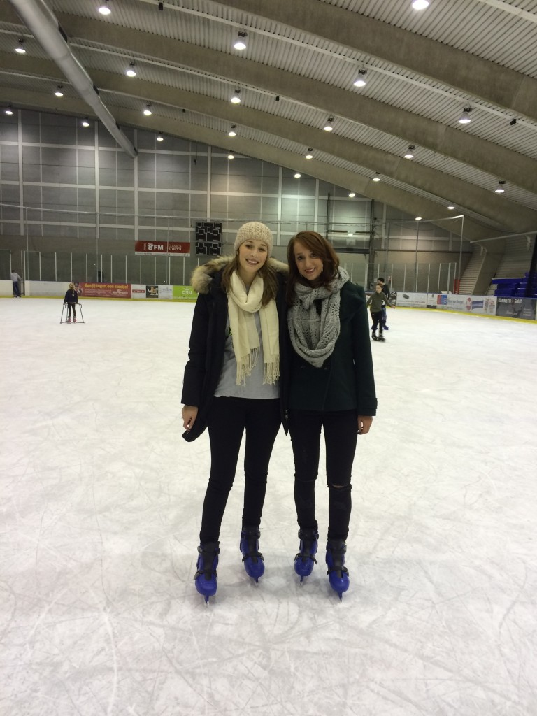 Ice Skating in Den Bosch with friends