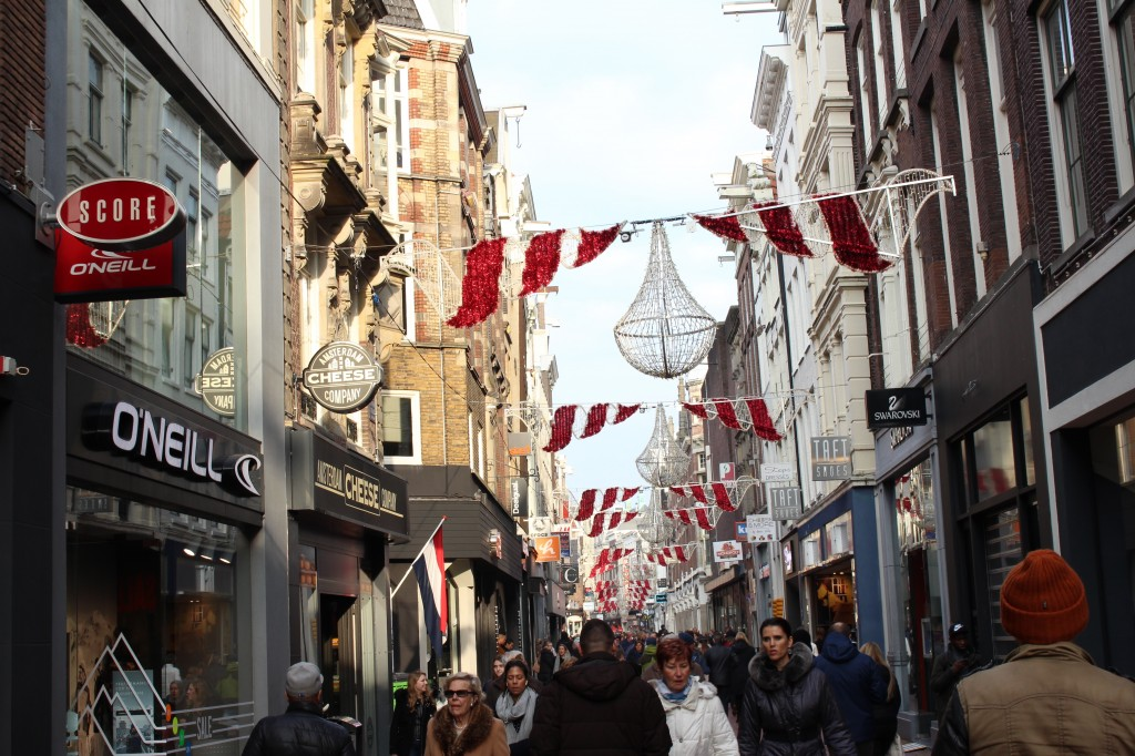 Kalverstraat in Amsterdam