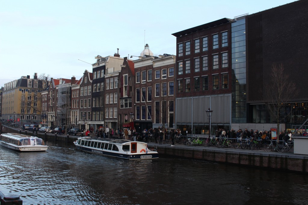 The Anne Frank House in Amsterdam