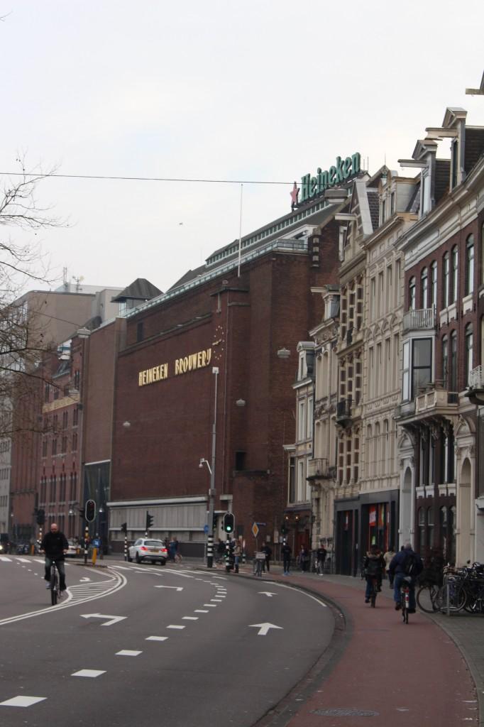 The Heineken Brewery in Amsterdam