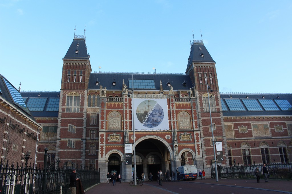 The Rijks Museum in Amsterdam