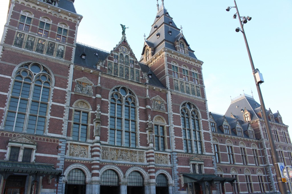 The RijksMuseum at the Museumplein