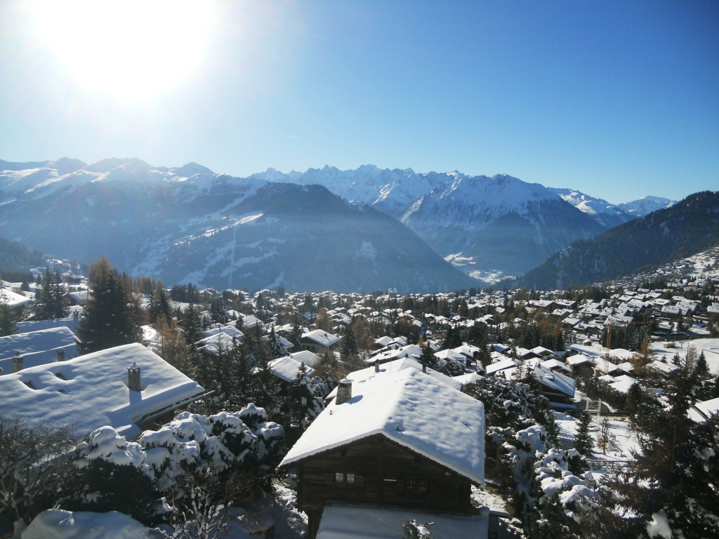 Verbier on a beautiful morning