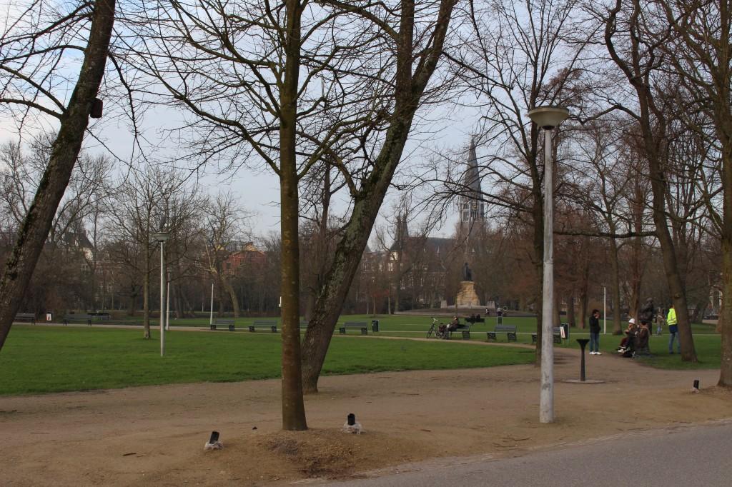 Vondel Park in Amsterdam
