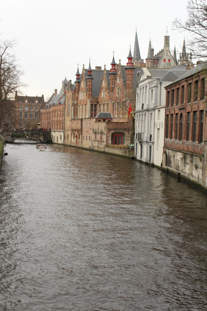 Great view at a Canal in Bruges