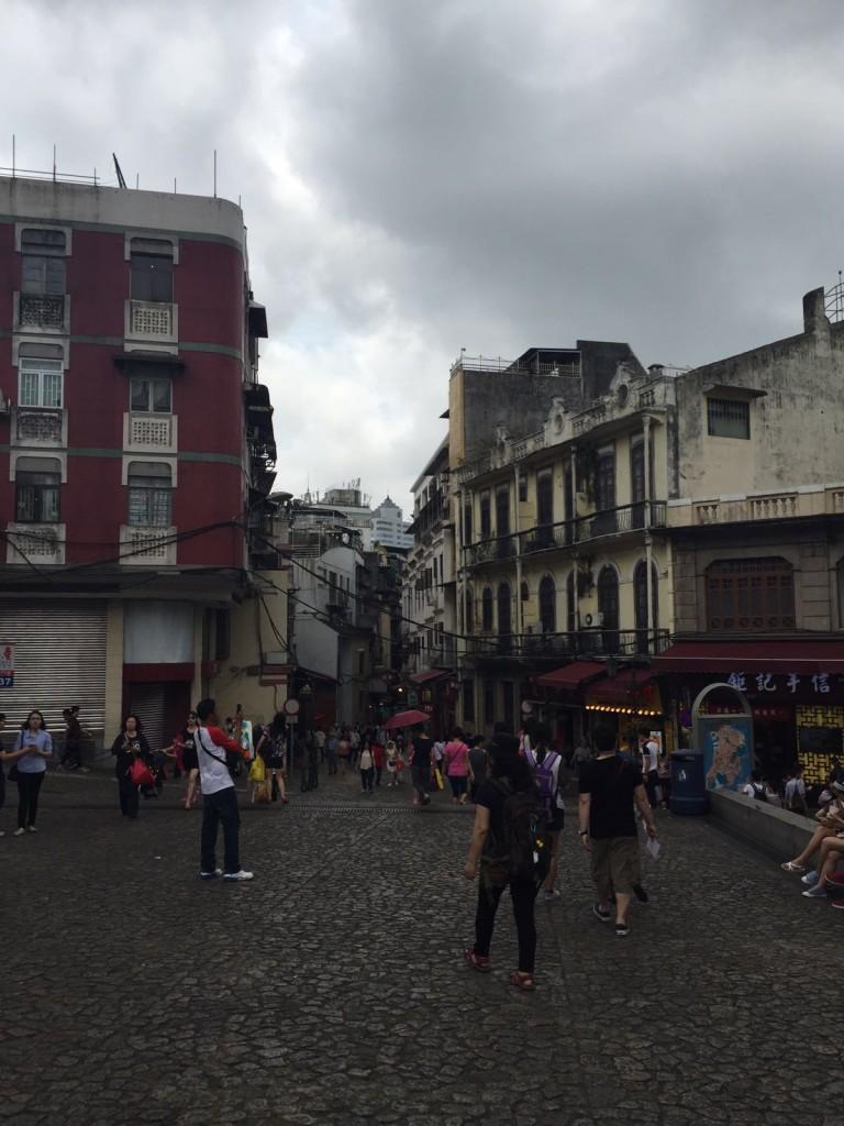 Senado Square in Downtown Macau