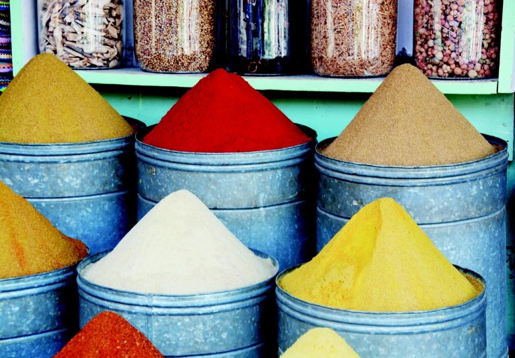 Spices Market in Marrakech