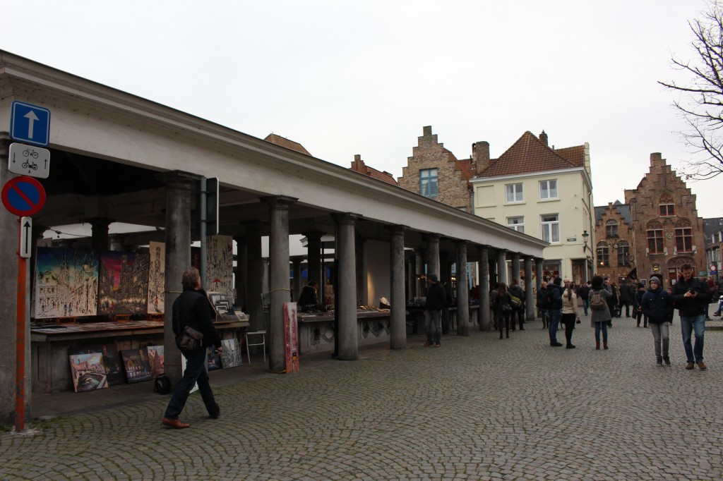 The Fish Market in Bruge