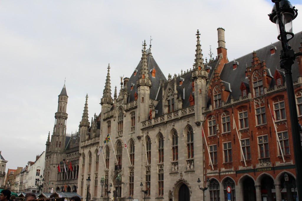 The Provincial Court at the Markt in Bruges