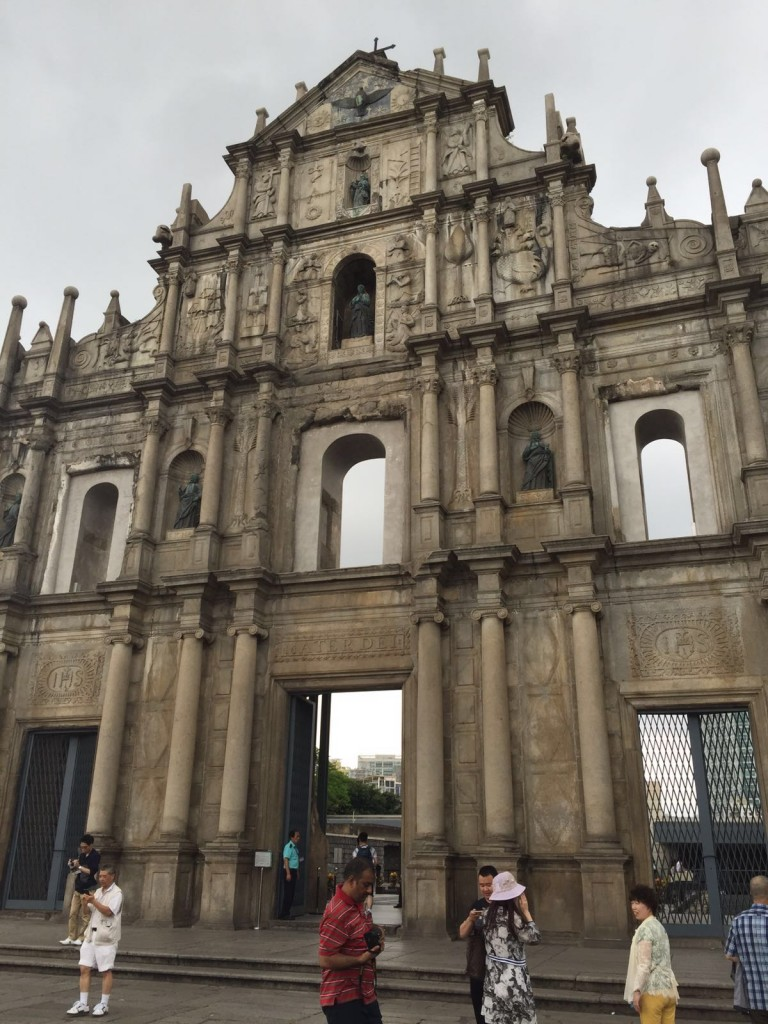 The Ruins of St Pauls Church in Macau