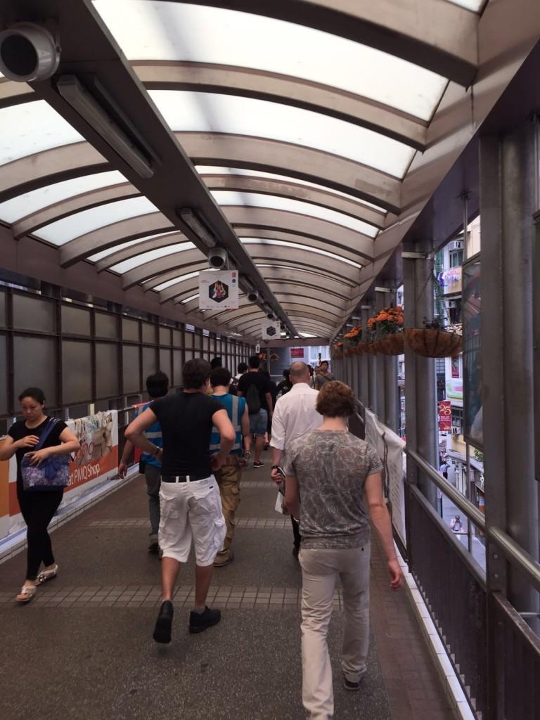 Central-Midlevel escalators