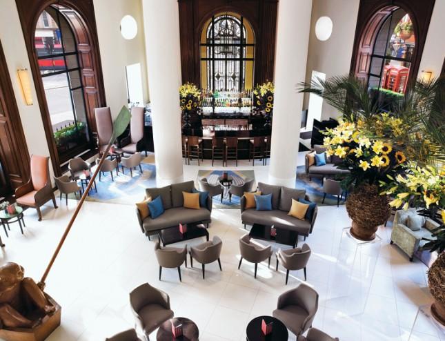 One Aldwych Hotel lobby