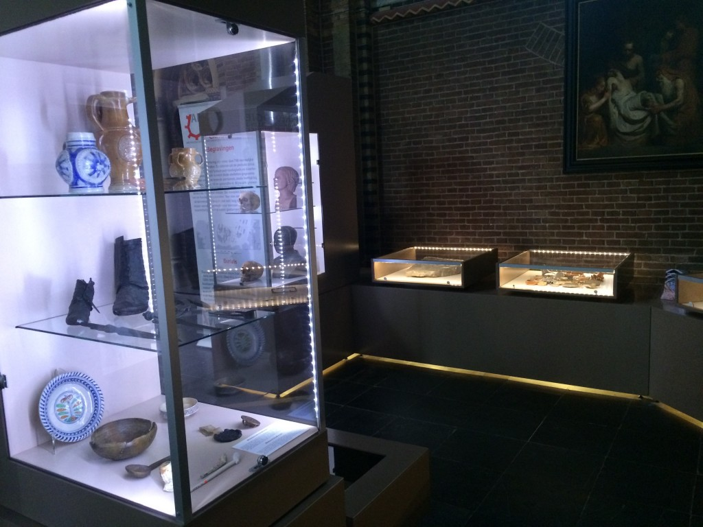 Exhibits in the St CatharinaKerk in Eindhoven