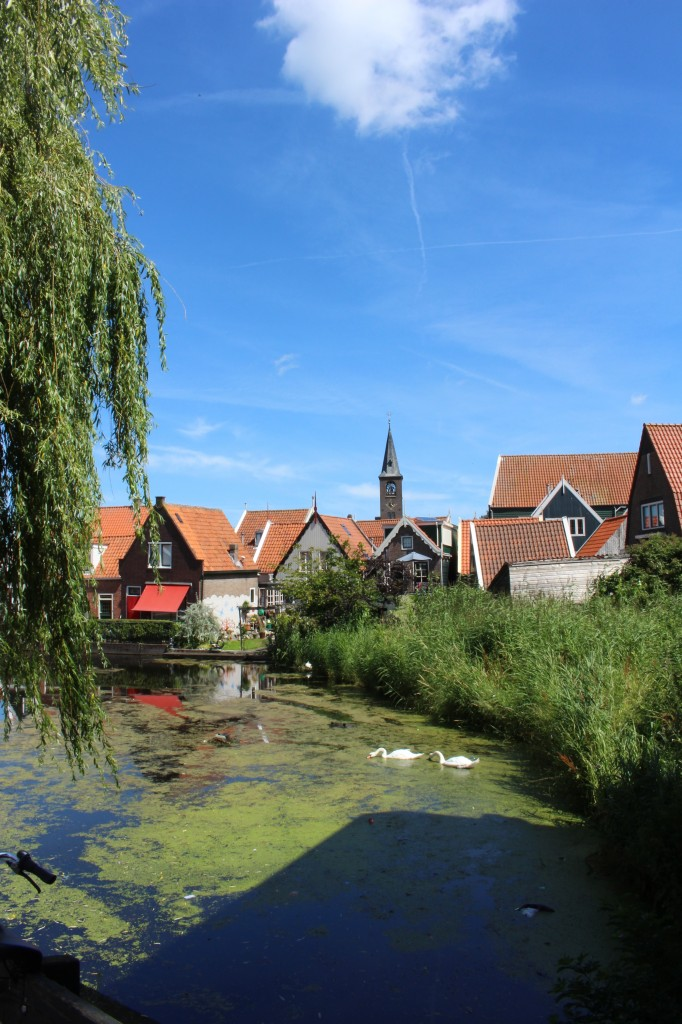 The city of Volendam, North Holland