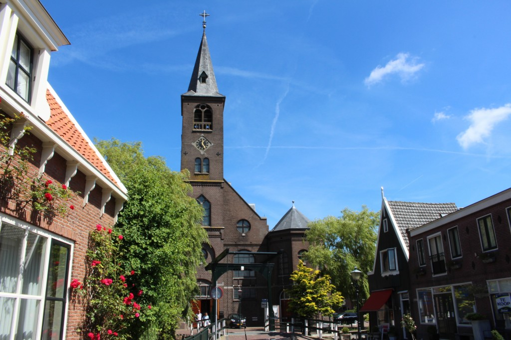 Catholic church in Volendam, North Holland