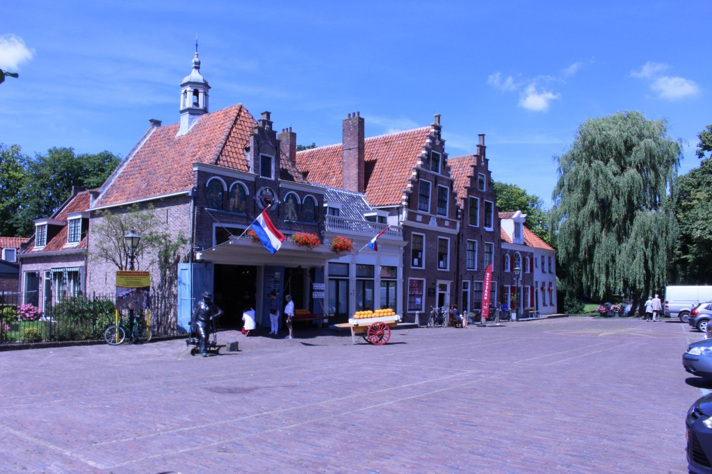 The Cheese Market in Edam