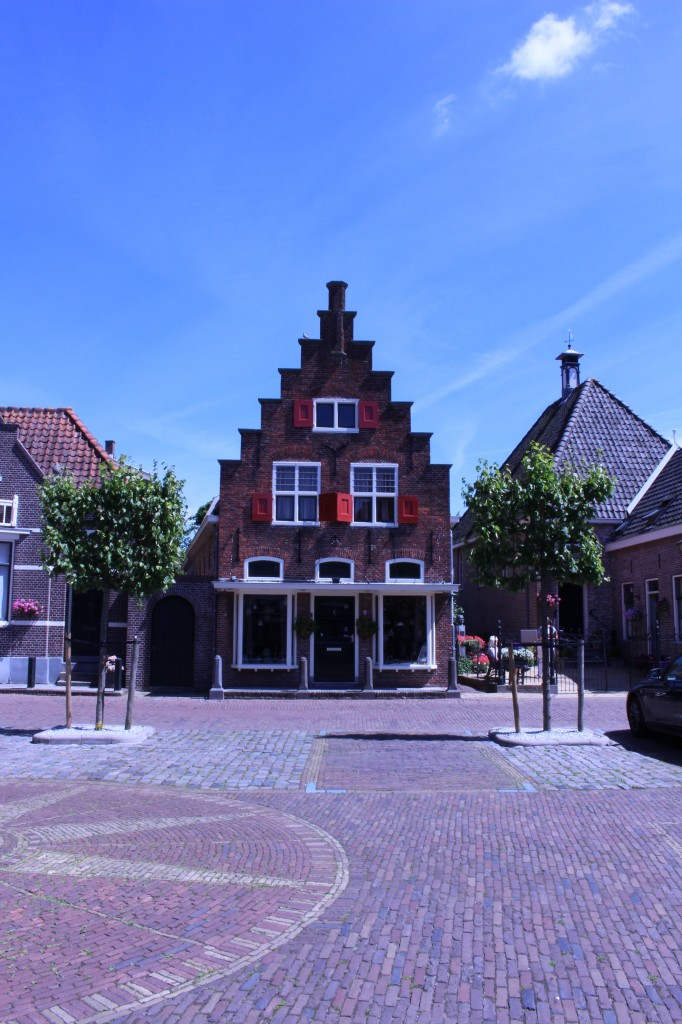 A picturesque building in Edam