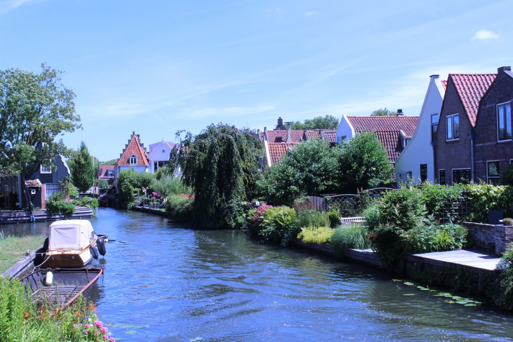 View from the Constabelbrug in Edam