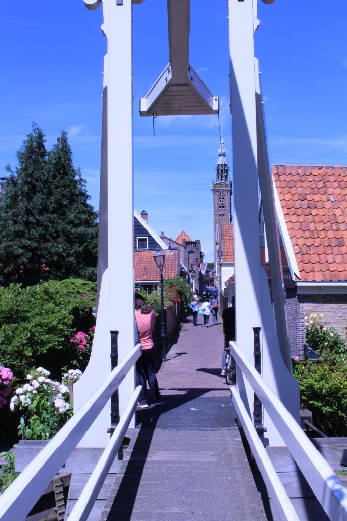 View of Edam and the Speeltoren from the Constabelbrug