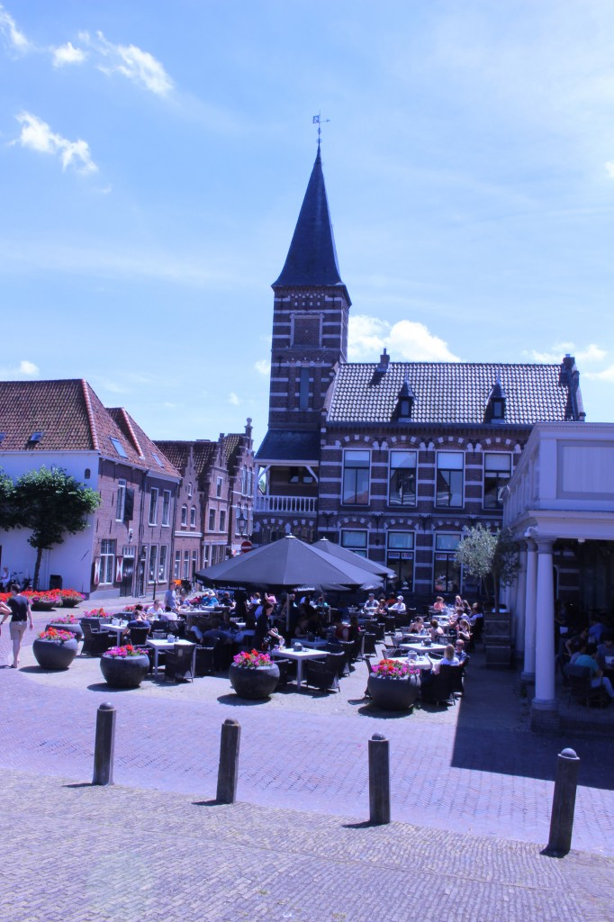 Ideal terrace in Edam for lunch or dinner!